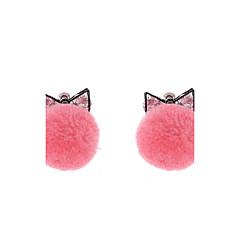 preiswerte Ohrringe-Damen Tropfen-Ohrringe - Luxus, Einzigartiges Design, Böhmische Rosa Gepunktet Für Hochzeit / Party / Besondere Anlässe