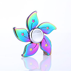 Fidget spinner -stressilelu hand Spinner Lelut Lelut Metalli EDCStressiä ja ahdistusta Relief Office Desk Lelut Killing Time Focus Toy
