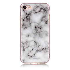 Недорогие Кейсы для iPhone 5с-Кейс для Назначение Apple iPhone X / iPhone 8 IMD Кейс на заднюю панель Мрамор Мягкий ТПУ для iPhone X / iPhone 8 Pluss / iPhone 8