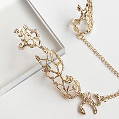 preiswerte Ringe-Damen Ring - Aleación Blume Modisch, Euramerican Eine Größe Gold / Silber Für Party / Alltag