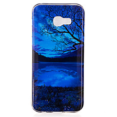 voordelige Galaxy A5 Hoesjes / covers-hoesje Voor Samsung Galaxy A5(2017) A3(2017) IMD Patroon Achterkant Landschap Zacht TPU voor A3 (2017) A5 (2017) A7 (2017) A5(2016)