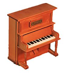 olcso -Zenedoboz Wood Model Játékok Zongora Fa Vintage Darabok Uniszex Ajándék