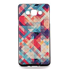 billige Galaxy A7 Etuier-For Etuier Mønster Bagcover Etui Geometrisk mønster Blødt TPU for Samsung A7 A5