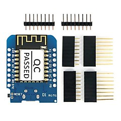 お買い得  マザーボード-esp8266 esp-12f d1 mini wi-fi開発ボードモジュール、arduino ide w / ch340gドライバ用