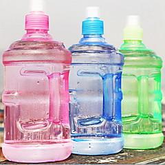 2pcs 플라스틱 투명 휴대용 모션 주전자 물 병 500 ml