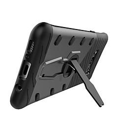 voordelige Galaxy S6 Edge Hoesjes / covers-hoesje Voor Samsung Galaxy S8 Plus S8 Schokbestendig met standaard 360° rotatie Achterkantje Effen Kleur Hard PC voor S8 S8 Plus S7 edge