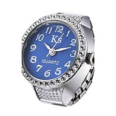 お買い得  レディース腕時計-女性用 リングウォッチ 日本産 カジュアルウォッチ 合金 バンド 光沢タイプ / ファッション シルバー / 1年間 / SSUO LR626