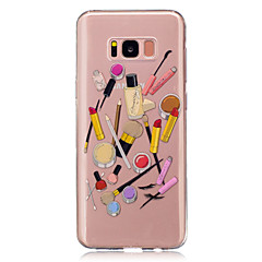 Voor Transparant Patroon hoesje Achterkantje hoesje Sexy dame Cartoon Zacht TPU voor Samsung S8 S8 Plus S5 Mini S4 Mini