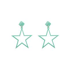 preiswerte Ohrringe-Damen Tropfen-Ohrringe Schmuck Grundlegend Simple Style USA Modisch Acryl Aleación Stern Schmuck Weihnachts Geschenke Hochzeit Party