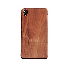 Cornmi для Sony Xperia z3 палисандр орех дерево жесткий деревянный корпус задней оболочки