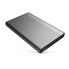 お買い得  モバイルバッテリー-20000mAh 電源銀行外部バッテリ 5V 2.4A 3.0AA バッテリーチャージャー マルチシュッ力 LCD