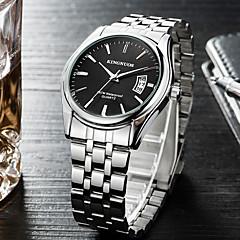 preiswerte Tolle Angebote auf Uhren-Herrn Quartz Armbanduhr / Militäruhr / Sportuhr Chinesisch Kalender / Cool Edelstahl Band Charme / Luxus / Freizeit / Modisch / Armreif