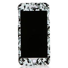 Για Apple iphone 7 7plus περίπτωση κάλυψης περίπτωσης πλήρες σώμα καμουφλάζ χρώμα σκληρό pc 6s συν 6 plus 6s 6