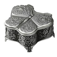 Spieluhr Spielzeuge Quadratisch Schmetterling Metal lieblich Stücke Unisex Geburtstag Geschenk