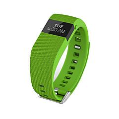 Du jw86 / tw64s mænds kvinde smarte armbånd / smarwatch / puls monitor sm wristband sove monitor farve skærm til ios android telefon