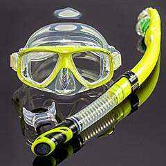 Máscaras de mergulho Snorkels Protecção Mergulho e Snorkeling Materiais Mistos Eco PC