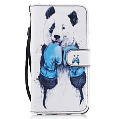 Для Кошелек Бумажник для карт со стендом Флип С узором Кейс для Чехол Кейс для Животный принт Твердый Искусственная кожа для HuaweiHuawei