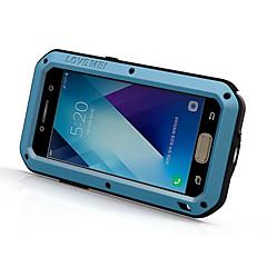 abordables Ofertas Semanales-Funda Para Samsung Galaxy A5(2017) A3(2017) Resistente al Agua Antigolpes Funda de Cuerpo Entero Color sólido Dura Metal para A3 (2017)