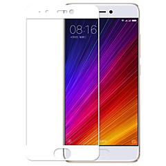 Недорогие Защитные плёнки для экранов Xiaomi-Защитная плёнка для экрана XIAOMI для Xiaomi Mi 5s Закаленное стекло 1 ед. Защитная пленка для экрана Защита от царапин HD