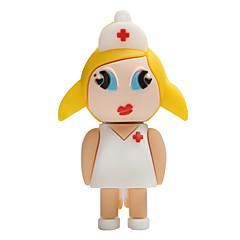 Heiße neue Karikatur weibliche Krankenschwester usb2.0 16gb Blitz-Antrieb u Scheibe Gedächtnisstock