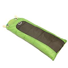 Bolsa de dormir Saco Rectangular Sencilla 15 20 PoliésterX60 Camping Al Aire Libre Mantiene abrigado