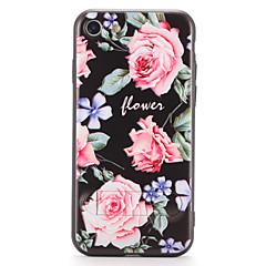 Для apple iphone 7 7plus чехол с футляром задняя обложка футляр для цветов твердый pc 6s plus 6 plus 6s 6