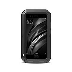 Недорогие Чехлы и кейсы для Xiaomi-Кейс для Назначение Xiaomi Защита от удара Вода / Грязь / Надежная защита от повреждений Чехол Твердый Металл для Xiaomi Mi 6