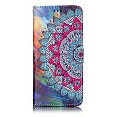 Etui Til Samsung Galaxy S8 Plus S8 Pung Kortholder Med stativ Flip Mønster Magnetisk Heldækkende Mandala-mønster Hårdt Kunstlæder for S8