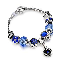 abordables Bijoux pour Femme-Femme Bracelets de rive - Luxe, Amitié, Elastique Bracelet Bleu Pour Noël Regalos de Navidad Mariage