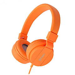abordables Auriculares para Videojuegos-Gorsun Sobre el oído / Cinta Con Cable Auriculares El plastico Teléfono Móvil Auricular Aislamiento de ruido Auriculares