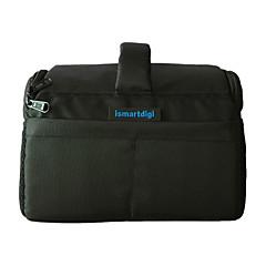 Ismartdigi i-111 Black Universal Camera Bag 26x18.5x14.5 cm for All DSLR DV Cameras Nikon Canon Sony Olympus... - Black