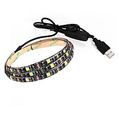tanie Taśmy LED-BRELONG® 27 Diody LED Ciepła biel Biały Prąd stały 5V DC5