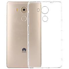 Недорогие Чехлы и кейсы для Huawei Mate-Кейс для Назначение Huawei Huawei Mate 8 Прозрачный Кейс на заднюю панель Прозрачный Мягкий ТПУ для Huawei Mate 8 Huawei