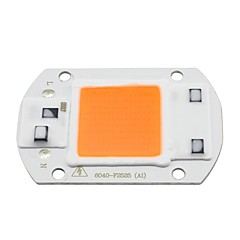 abordables Ledes-1pc COB Luminoso Aluminio Chip LED para DIY Proyector de luz de inundación LED 30 W