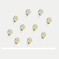 G4 LED Bi-pin Lights 6 SMD 5050 68 lm Warm White White K V