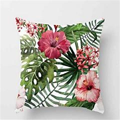 1pcs moda tropikalnych roślin sofa poduszki brzoskwinia poduszki skóry poduszki