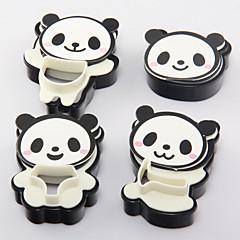 Χαμηλού Κόστους Εργαλεία και γκάτζετ ψησίματος-4 Κομμάτια ψήσιμο Mold Γράμμα για Ice για Cookie για Candy Πλαστικά ψήσιμο Εργαλείο 3D Υψηλή ποιότητα