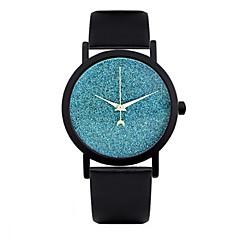 お買い得  レディース腕時計-女性用 リストウォッチ レザー バンド ファッション ブラック