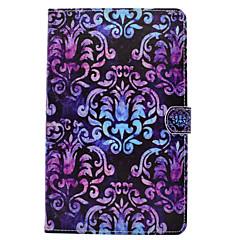 Voor Samsung Galaxy Tab t580 t560 mandala geschilderd patroon pu leer materiaal platte beschermhoes hoes voor t550 t530 t350 t280