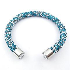 abordables Bijoux pour Femme-Femme Bracelets de rive - Rétro, Arc-en-ciel, Naturel Bracelet Rouge / Vert / Bleu clair Pour Regalos de Navidad Mariage Soirée