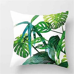 1db divat trópusi növényi kanapé párna barack bőr párnahuzat