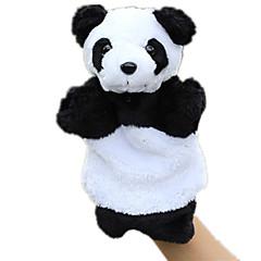 abordables Marionetas-Marionetas de dedo Marionetas Juguete Educativo Oso Oso Panda Bonito Animales Encantador Felpa Tactel Niños Regalo