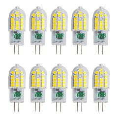 preiswerte LED-Birnen-YWXLIGHT® 10 Stück 3W 250-300lm G4 LED Doppel-Pin Leuchten T 30 LED-Perlen SMD 2835 Warmes Weiß Kühles Weiß Natürliches Weiß 220-240V