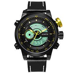 preiswerte Herrenuhren-Herrn Quartz digital Japanischer Quartz Digitaluhr Armbanduhr Militäruhr Sportuhr Japanisch Wasserdicht LED Großes Ziffernblatt Nachts