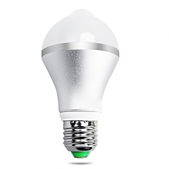 7W B22 E26/E27 LED Smart Bulbs A60(A19) 14 leds SMD 5630 Infrared Sensor Human Body Sensor Light Control Warm White Cold White 650lm