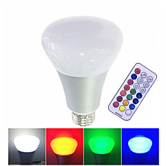 10W E27 Ampoules LED Intelligentes LED Haute Puissance 500 lm Blanc Chaud RVB Blanc K Commandée à Distance Intensité Réglable V