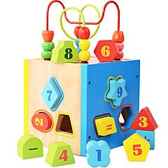Bausteine Bildungsspielsachen Spielzeuge Quadratisch Kinder Stücke