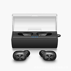 Mini Twins True Wireless Earphone Bluetooth TWS Stereo Music Airpods Style in ear headphones fone de ouvido with Charging Box
