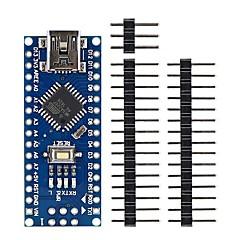 お買い得  マザーボード-ミニUSBのnano 3.0 atmega328p arduinoのための開発ボードの部品