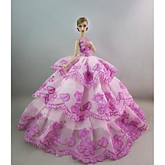 Parti / Gece Elbiseler İçin Barbie Bebek İçin Kız Oyuncak bebek